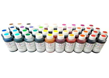 China Furniture Paint Epoxy Pigment Paste , Small Color Change Pigment Dispersion In Paint factory